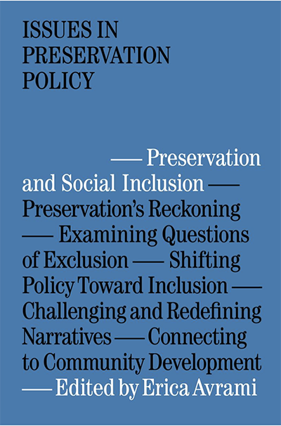 Issues in Preservation Policy Cover
