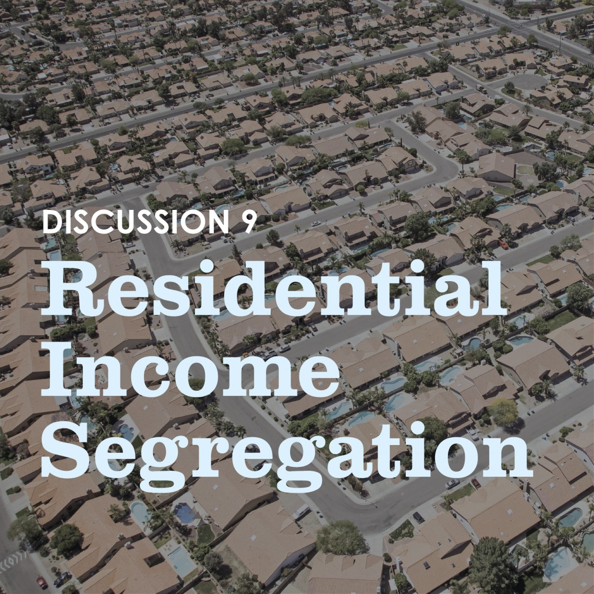 urban segregation essays