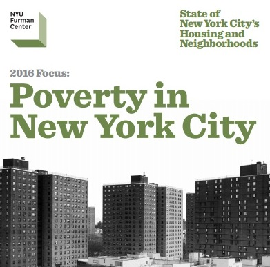 Focus On Poverty In New York City Nyu Furman Center