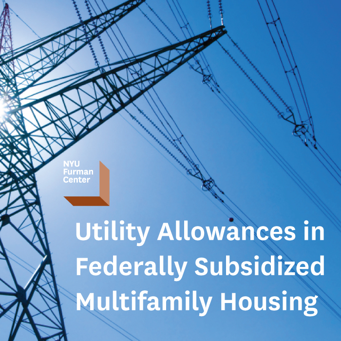 Utility Costs And Federally Subsidized Housing
