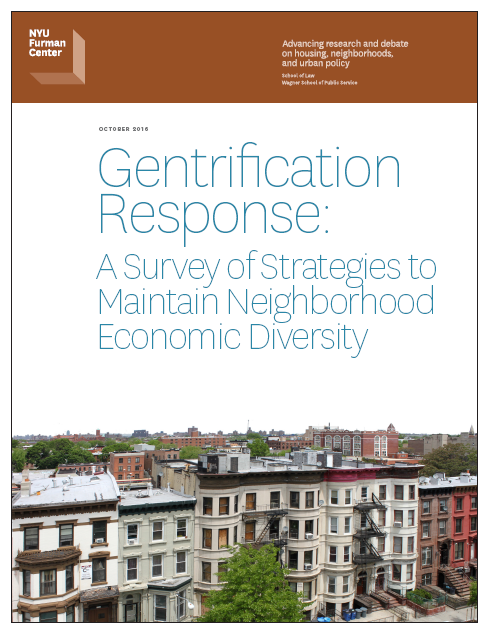gentrification of housing stress Great discussion here in nashville, we are seeing the same things: a neighborhood works really hard to deal with crime and run-down property then, it becomes trendy, newcomers arrive, and housing costs go way up (taxes, rent, etc.