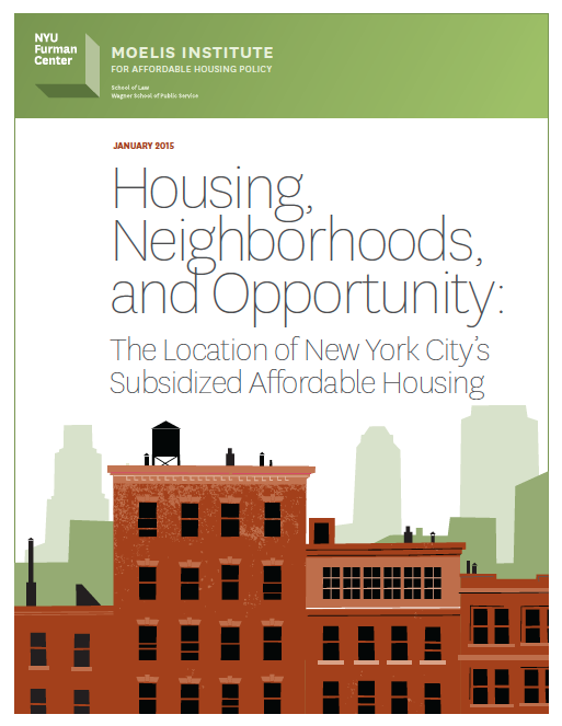 Housing, Neighborhoods, And Opportunity: The Location Of