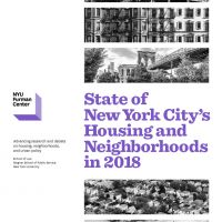 Cover of State of New York City's Housing and Neighborhoods in 2018