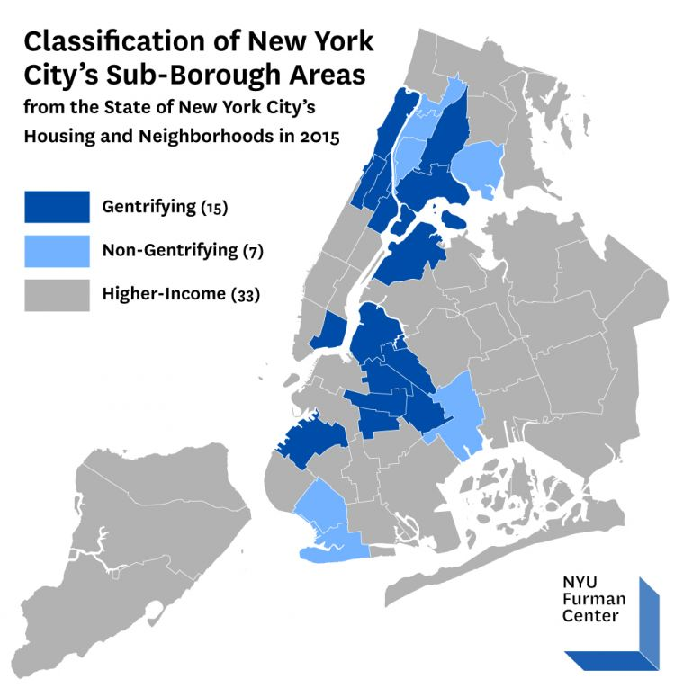 Report Analyzes New York City\'s Gentrifying Neighborhoods ...