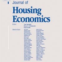 Journal of Housing Economics Cover