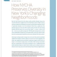NYCHA Diversity Fact Brief Cover