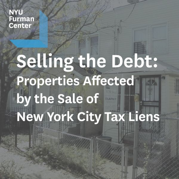 Report new york city properties affected by sale of tax for Properties for sale in new york city