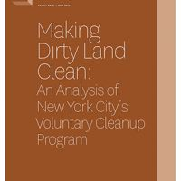 Making Dirty Land Clean report Cover